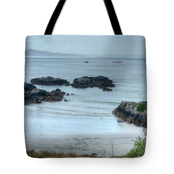 Irish Tidal Pool Tote Bag by Douglas Barnett