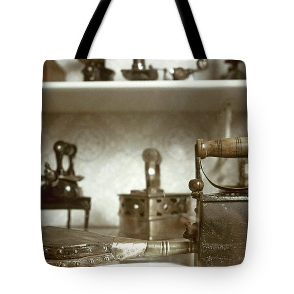 Iron, 19th Century Tote Bag by Granger