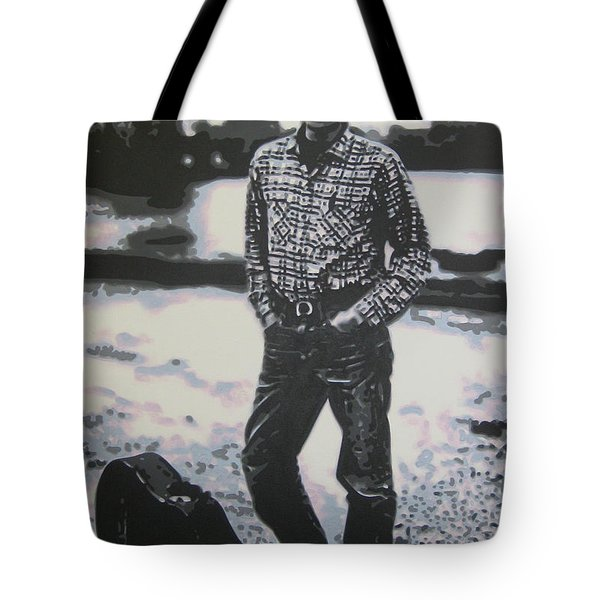 Is there no one here that knows where Im at Tote Bag by Luis Ludzska