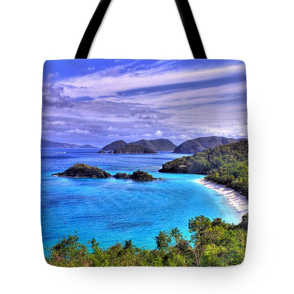 Isle Of Sands Tote Bag by Scott Mahon