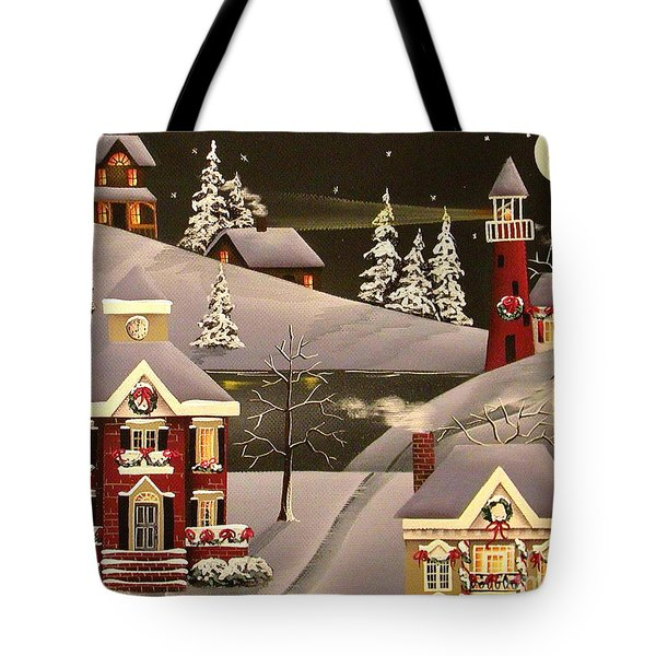 It Came Upon a Midnight Clear Tote Bag by Catherine Holman