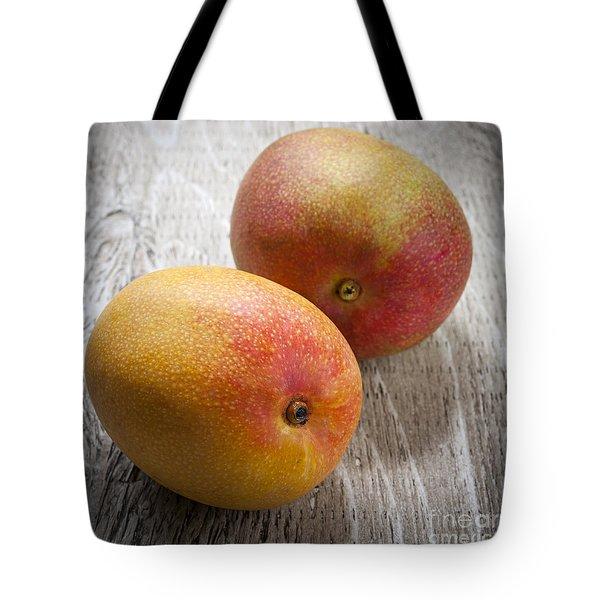 It Takes Two To Mango Tote Bag by Elena Elisseeva