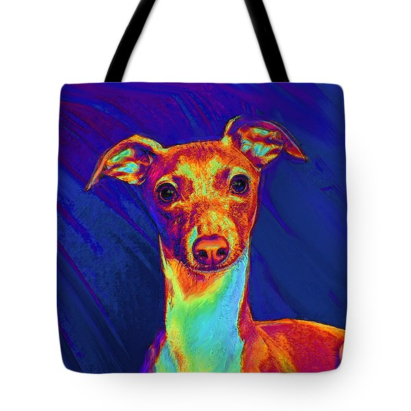 italian greyhound  Tote Bag by Jane Schnetlage