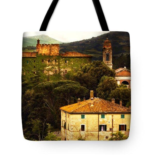 Italian Landscape Tote Bag by Marilyn Hunt
