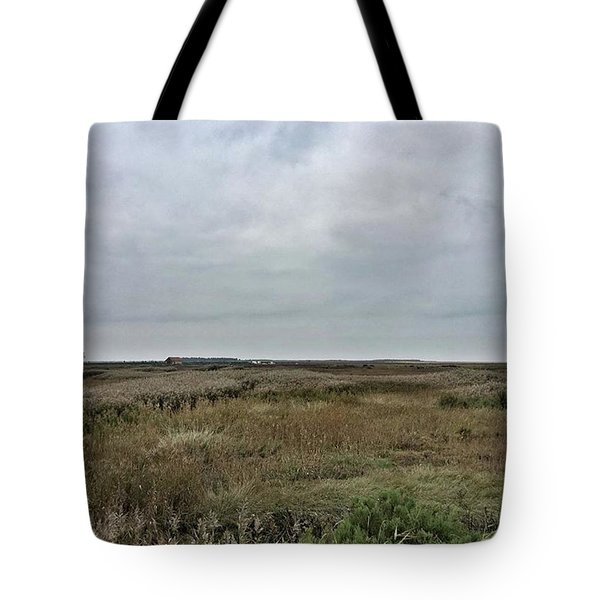 It's A Grey Day In North Norfolk Today Tote Bag by John Edwards