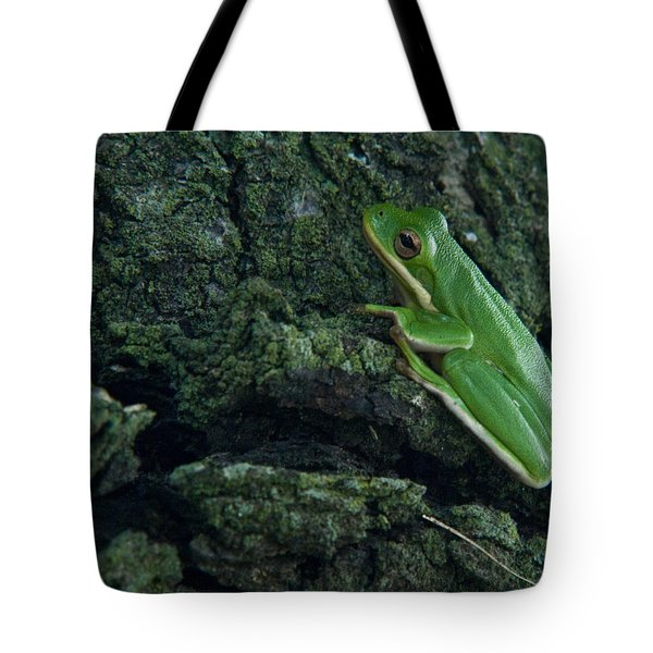 Its Hard To Be Green Tote Bag by Douglas Barnett