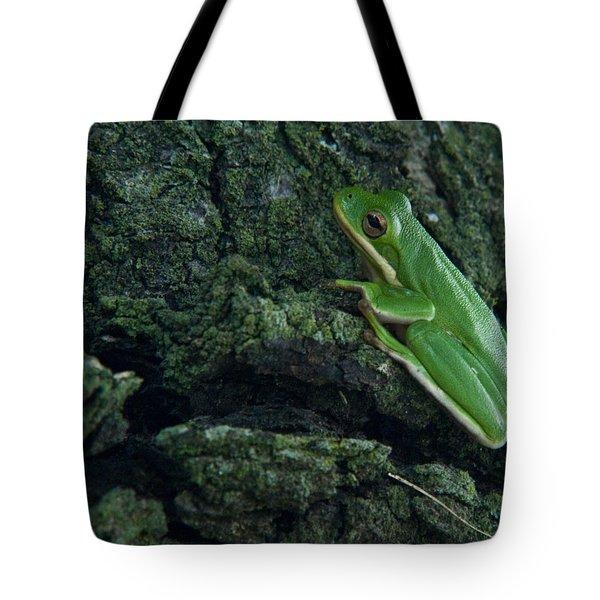 Its Hard to Be Green Tote Bag by Douglas Barnett