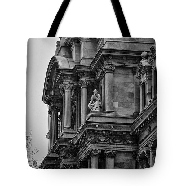 It's In The Details - Philadelphia City Hall Tote Bag by Bill Cannon