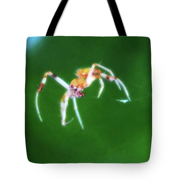 Itsy Bitsy Spider Tote Bag by Bill Cannon