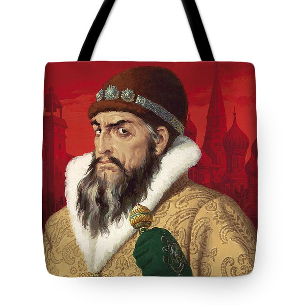 Ivan The Terrible Tote Bag by English School