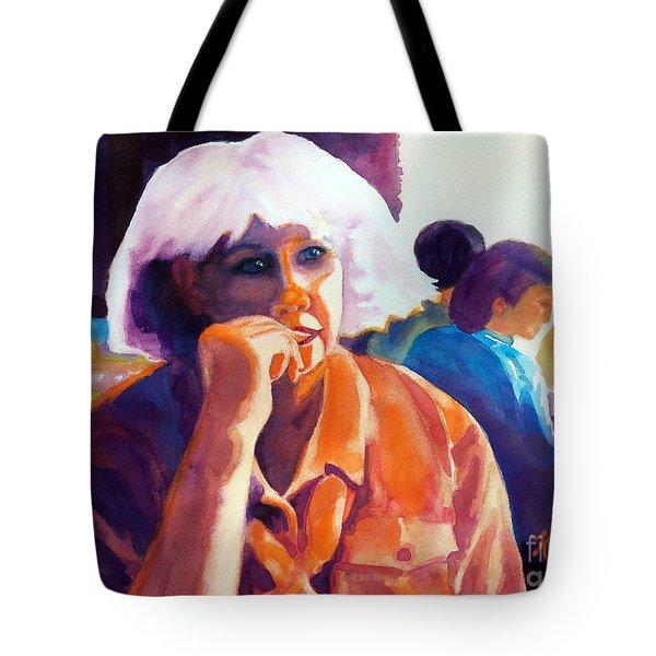 I've Got A Secret Tote Bag by Kathy Braud