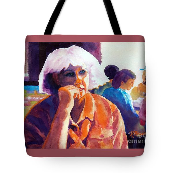 I've Got a Secret Tote Bag by Kathy Braud