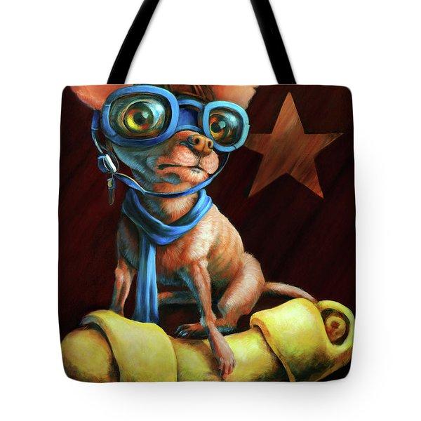 I've Got Mine Tote Bag by Vanessa Bates