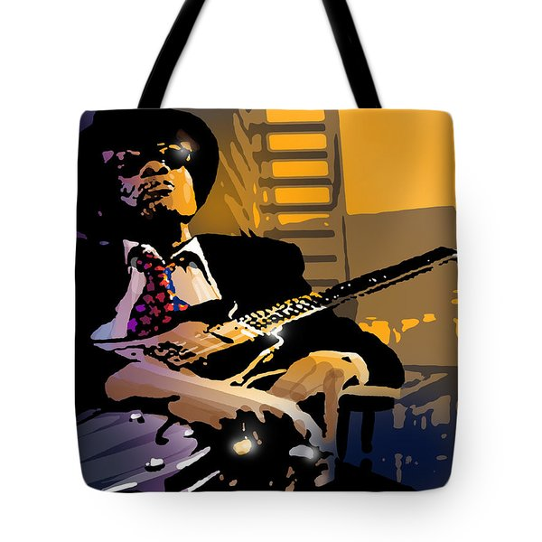 J L Hooker Tote Bag by Paul Sachtleben