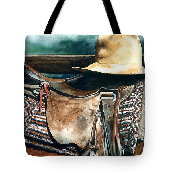 Janessa's Hat Tote Bag by Nadi Spencer