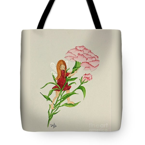 January Tote Bag by Terri Mills