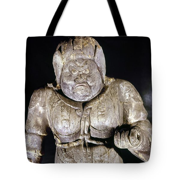 Japan: Buddhist Statue Tote Bag by Granger
