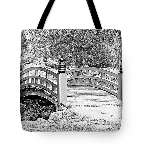 Tote Bag featuring the photograph Japanese Garden by Rodney Campbell