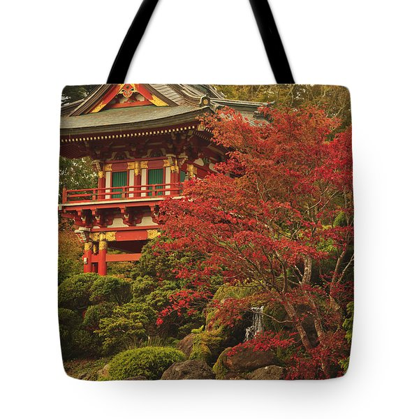 Japanese Tea Garden In Golden Gate Park Tote Bag by Stuart Westmorland