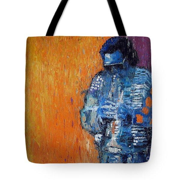 Jazz Miles Davis 2 Tote Bag by Yuriy  Shevchuk