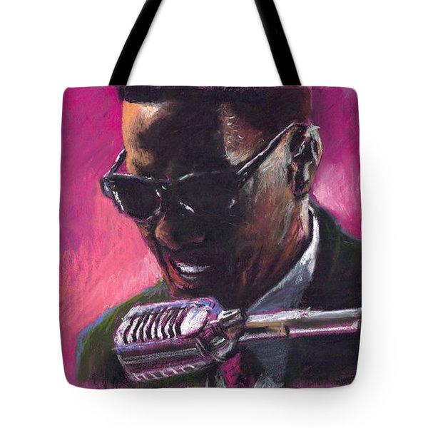 Jazz. Ray Charles.1. Tote Bag by Yuriy  Shevchuk