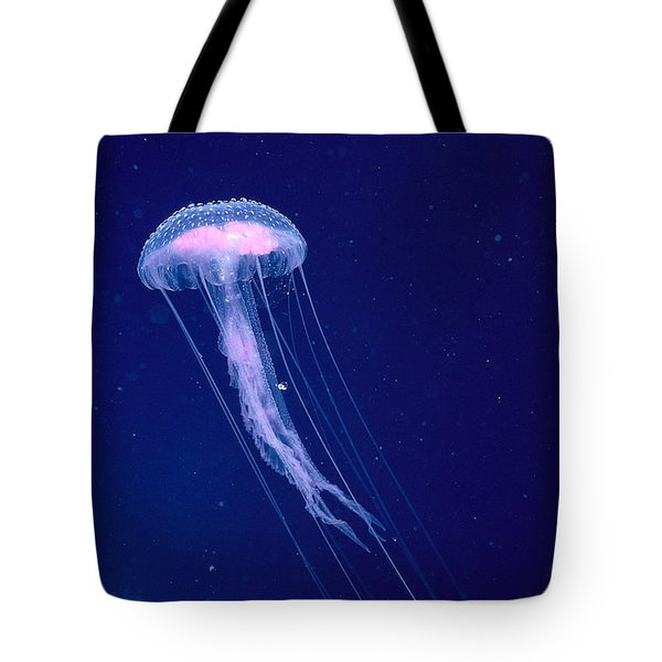 Jellyfish Tote Bag by Dave Fleetham - Printscapes