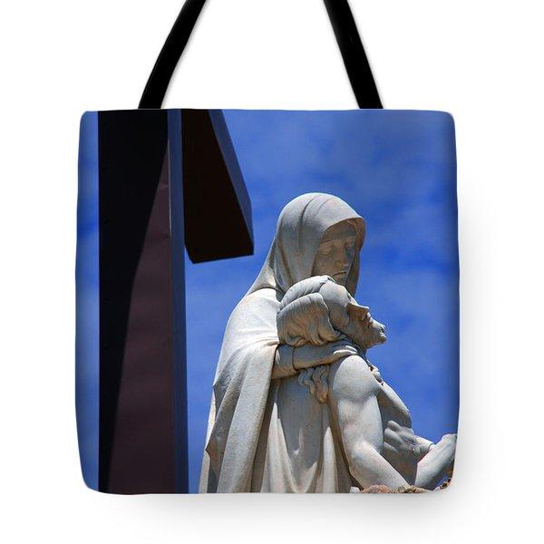 Jesus and Maria Tote Bag by Susanne Van Hulst