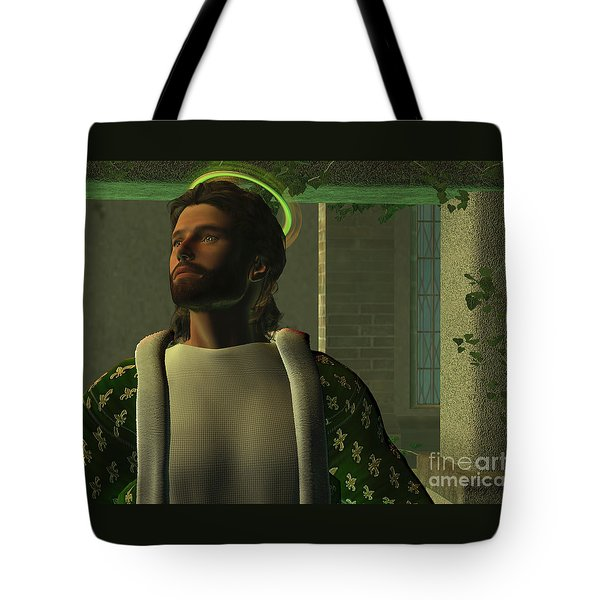 Jesus Tote Bag by Corey Ford