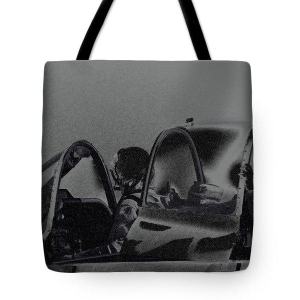 Jet Pilots Tote Bag by Karol  Livote