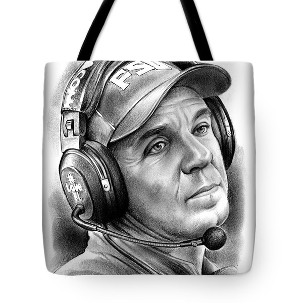 Jimbo Fisher Tote Bag by Greg Joens