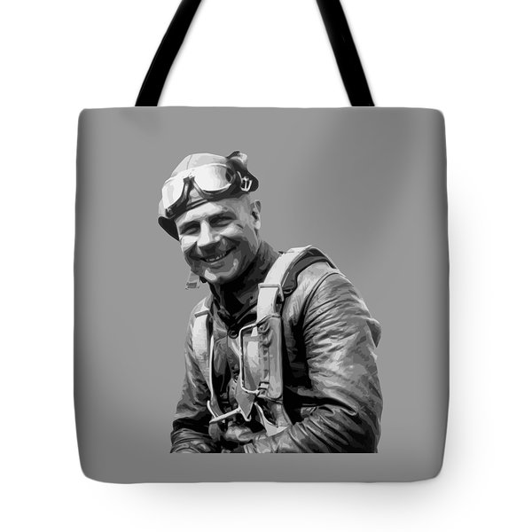 Jimmy Doolittle Tote Bag by War Is Hell Store