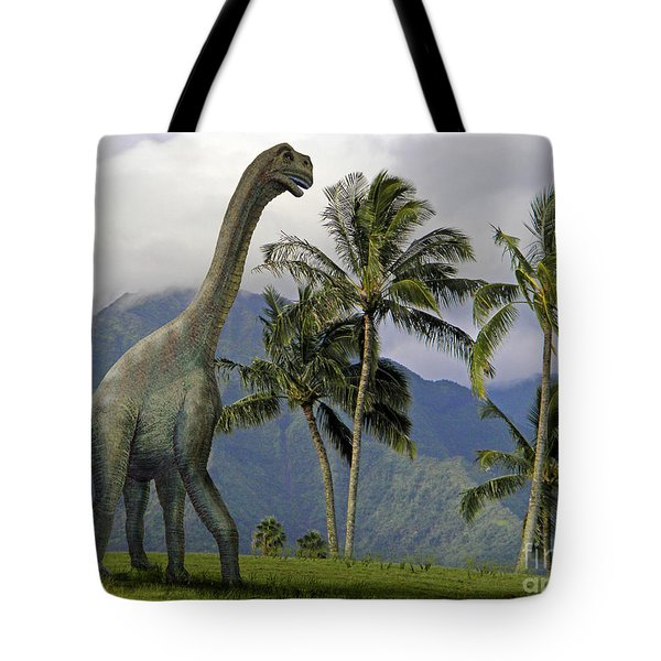 Jobaria In Meadow Tote Bag by Frank Wilson