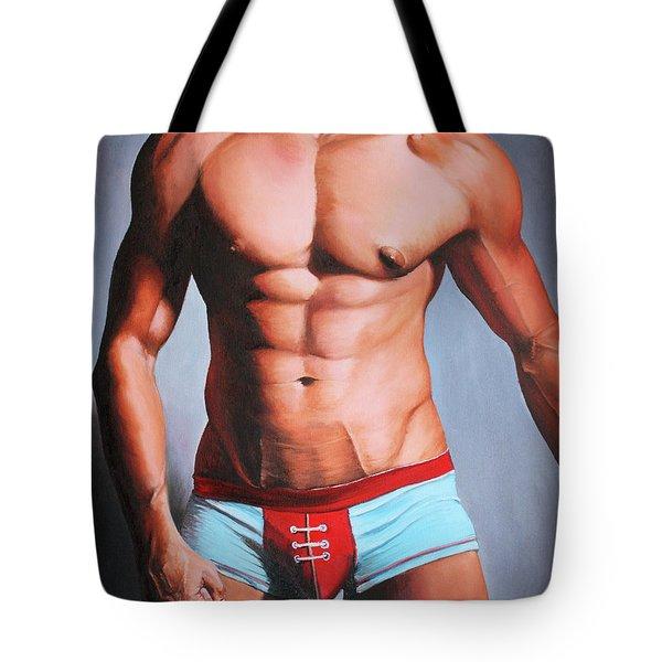 Jock Tote Bag by Maciel Cantelmo