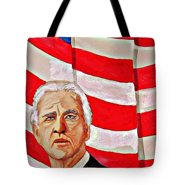 Joe Biden 2010 Tote Bag by Ken Higgins