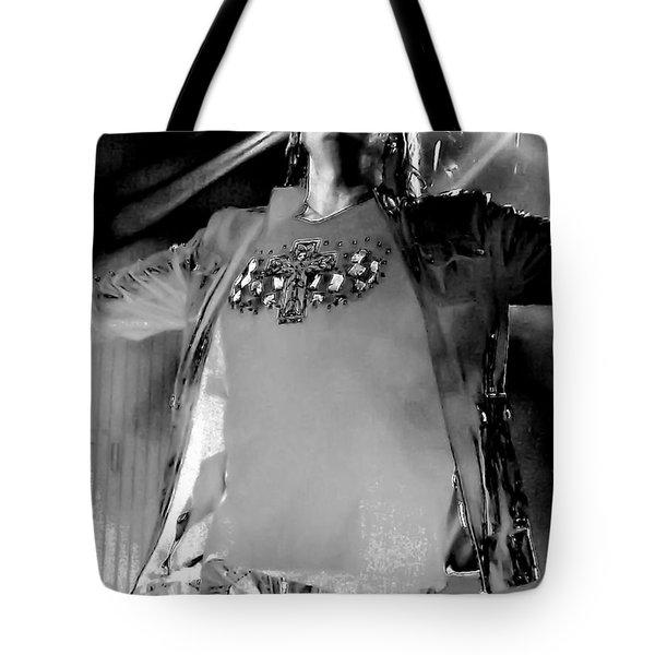 Joe Elliott Tote Bag by David Patterson