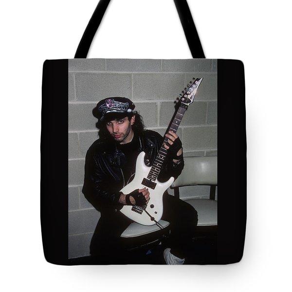 Joe Satriani Tote Bag by Rich Fuscia