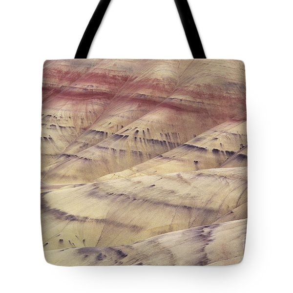 John Day Fossil Beds Tote Bag by Greg Vaughn - Printscapes