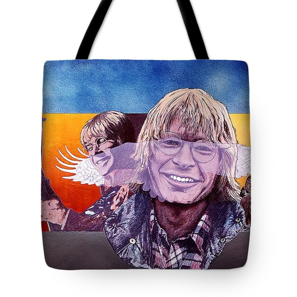 John Denver Tote Bag by John D Benson