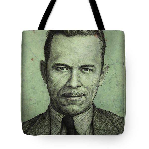 John Dillinger Tote Bag by James W Johnson