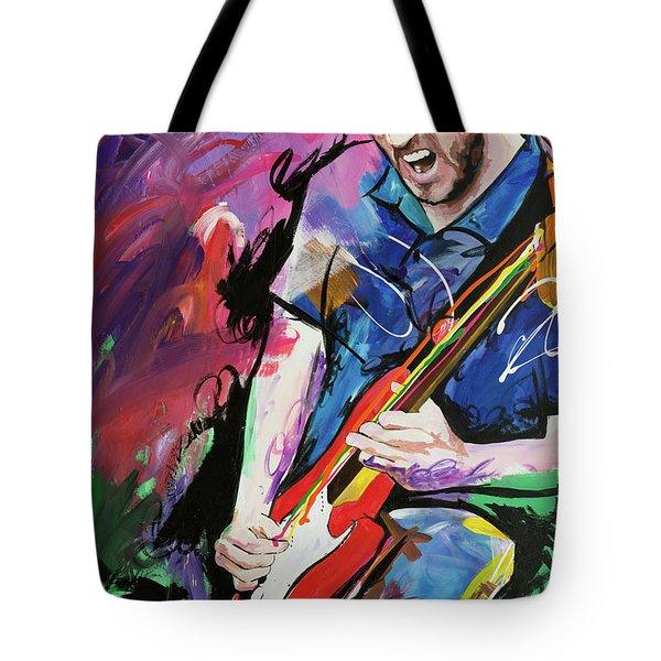 John Frusciante Tote Bag by Richard Day