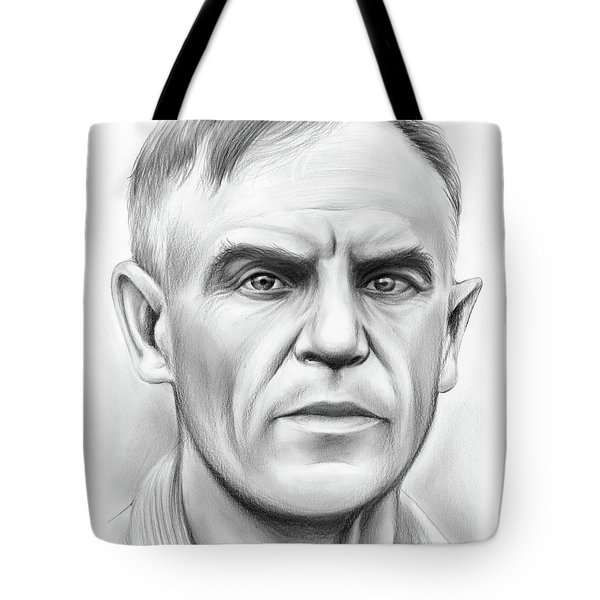 John Heisman Tote Bag by Greg Joens