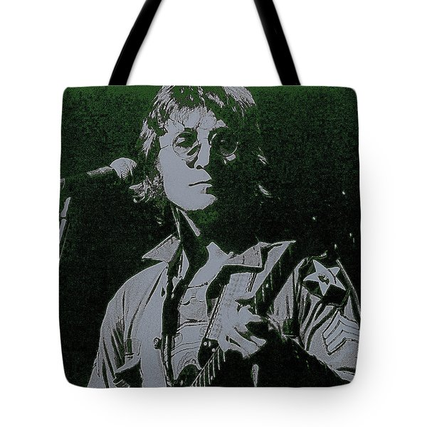 John Lennon Tote Bag by David Patterson