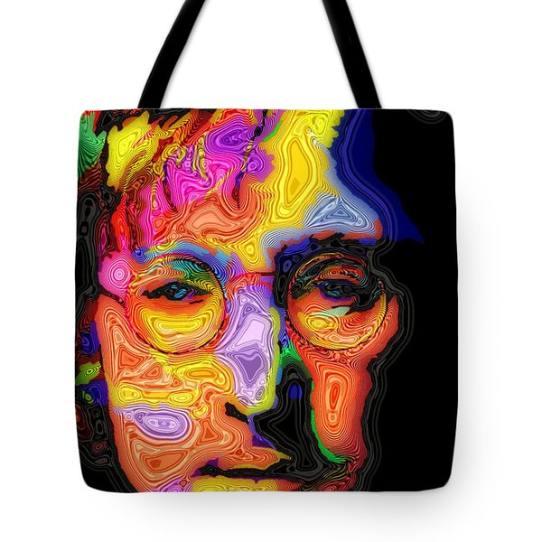 John Lennon Tote Bag by Stephen Anderson