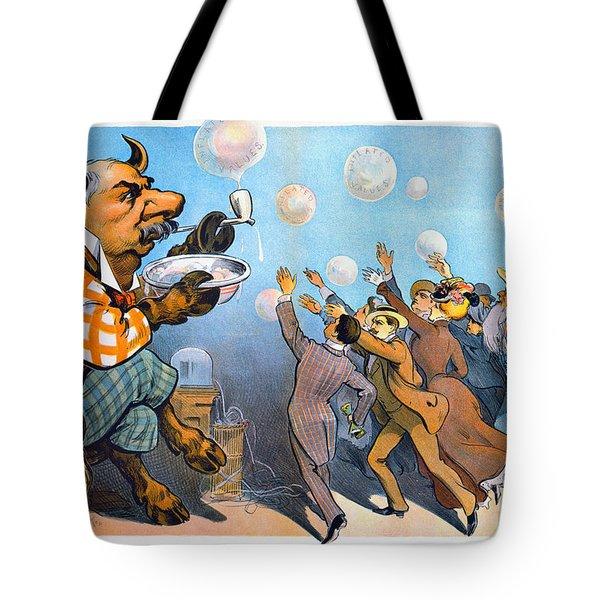 John Pierpont Morgan Tote Bag by Granger