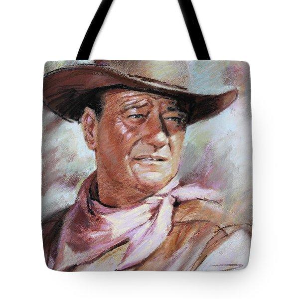 John Wayn Tote Bag by Ylli Haruni