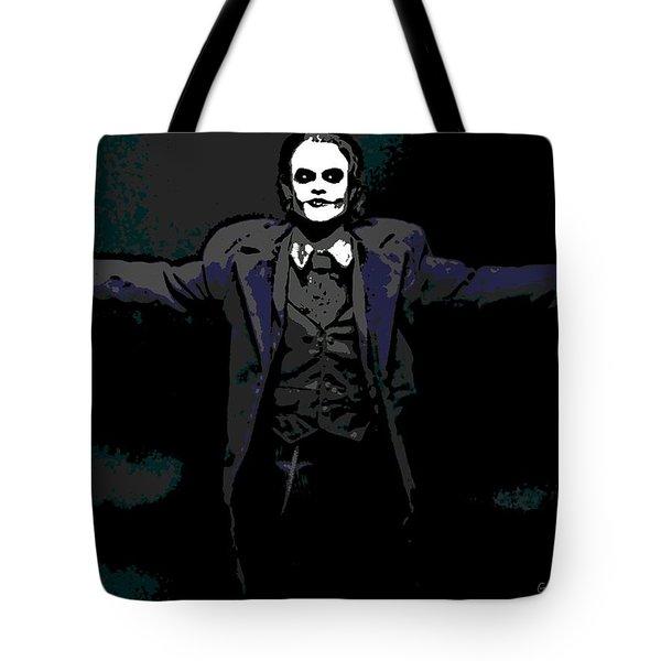 Joker Tote Bag by George Pedro