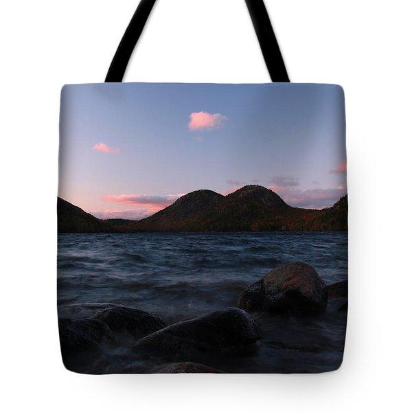 Jordan Pond Tote Bag by Juergen Roth
