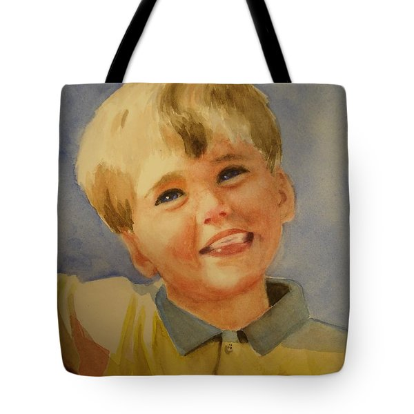 Joshua's Brother Tote Bag by Marilyn Jacobson