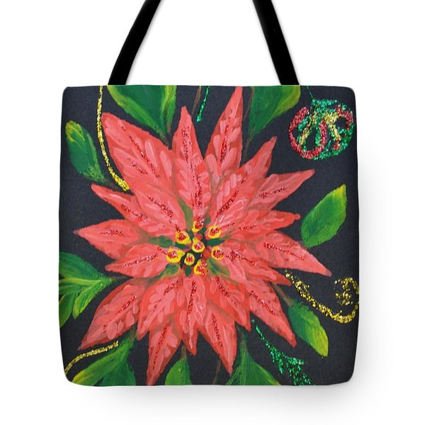 Joy Of Holidays Tote Bag by Georgeta  Blanaru