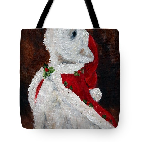 Joy To The World Tote Bag by Mary Sparrow